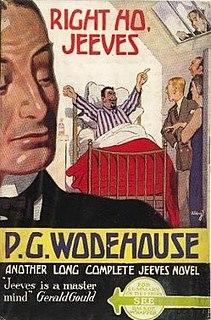<i>Right Ho, Jeeves</i> 1934 novel by P.G. Wodehouse