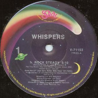 Rock Steady (The Whispers song) - Image: Rock Steady by The Whispers US vinyl 12 inch
