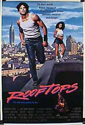 Rooftops (film) - Theatrical release poster
