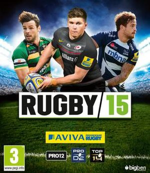 Rugby 15 - Image: Rugby 15 International PS4 Cover