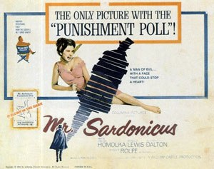 Mr. Sardonicus - Theatrical release poster