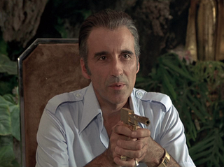 Francisco Scaramanga fictional character in the James Bond novel and film versions of The Man with the Golden Gun