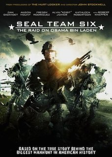 <i>Seal Team Six: The Raid on Osama Bin Laden</i> 2012 television film directed by John Stockwell