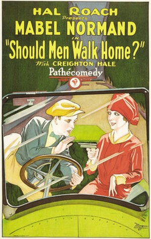 Should Men Walk Home? - Film poster
