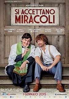 <i>Si accettano miracoli</i> 2015 film by Alessandro Siani