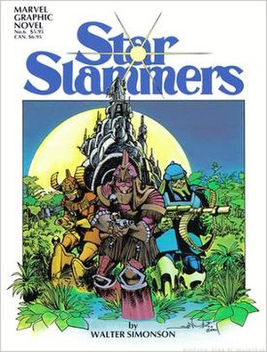 Walt Simonson - Star Slammers graphic novel (1983)