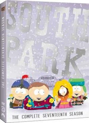 South Park (season 17) - DVD cover