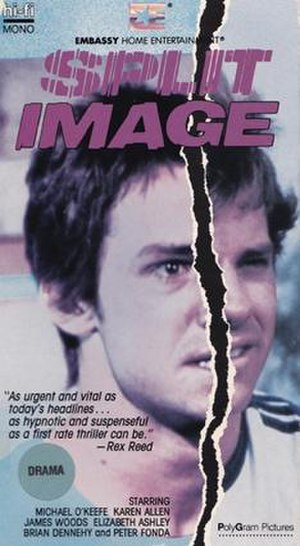 Split Image (film) - Split Image 1986 VHS box cover
