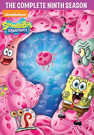 SpongeBob SquarePants (season 9) - DVD cover
