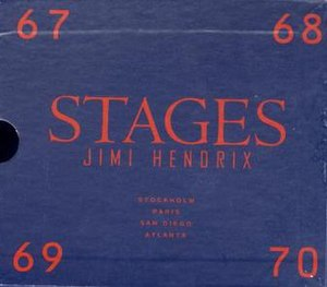 Stages (Jimi Hendrix album) - Image: Stages by Jimi Hendrix
