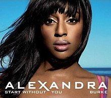 Alexandra Burke featuring Laza Morgan - Start Without You (studio acapella)