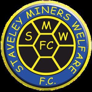 Staveley Miners Welfare F.C. - Image: Staveley Miners Welfare F.C. logo