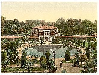 Wilhelma - Wilhelma Zoo circa 1900