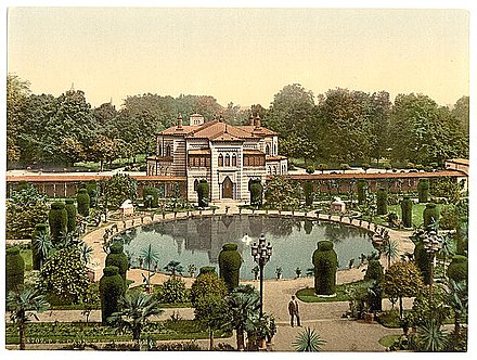 Wilhelma Zoo and Botanical Garden, around 1900 Stuttgart Wilhelma 1900.jpg