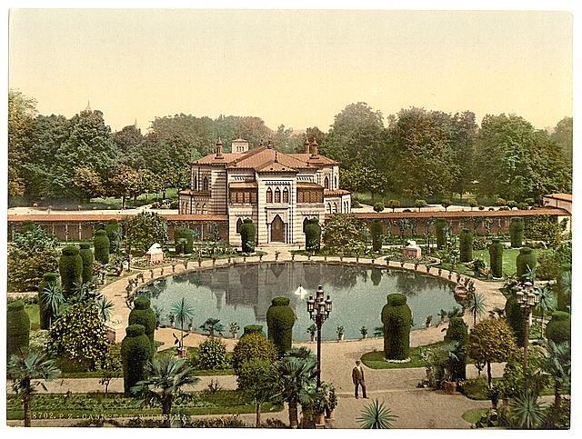 Stuttgart Wilhelma 1900