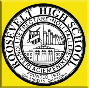 Theodore Roosevelt High School (Los Angeles) - Image: TRHS Seal
