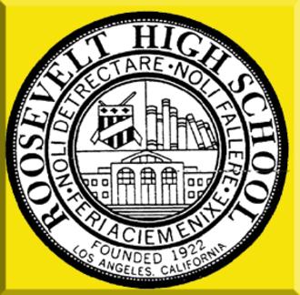 Theodore Roosevelt High School (Los Angeles) - Image: TRHS Seal