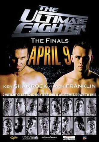 The Ultimate Fighter 1 - Image: TUF 1 Finale Poster Fitness Philippines