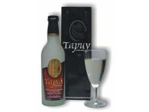 Rice wine - A bottle of Tapuy, a Philippine rice wine.