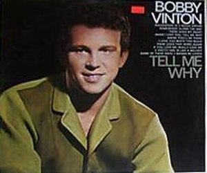 Tell Me Why (Bobby Vinton album) - Image: Tellmewhyvinton