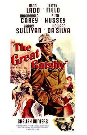 The Great Gatsby (1949 film) - Original film poster