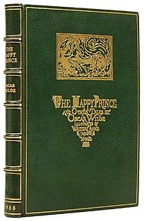 <i>The Happy Prince and Other Tales</i> 1888 collection of fairytales by Oscar Wilde
