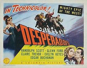 The Desperadoes - Image: The Desperadoes 1943 Poster