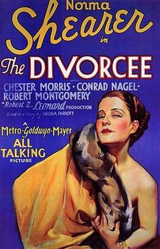 The Divorcee - Image: The Divorcee poster