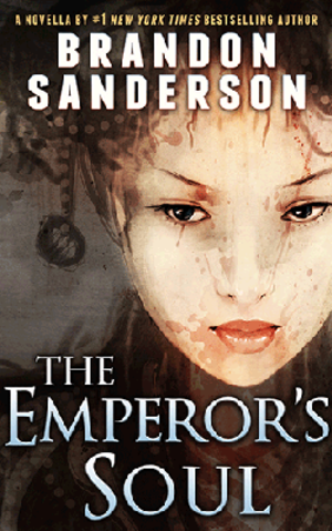 The Emperor's Soul - Cover showing artwork by Alexander Nanitchkov.