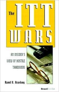 <i>The ITT Wars</i> book by Rand Araskog