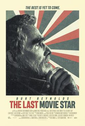 The Last Movie Star - Theatrical release poster