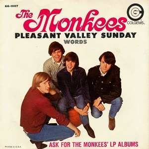 Pleasant Valley Sunday - Image: The Monkees single 04 Pleasant Valley Sunday