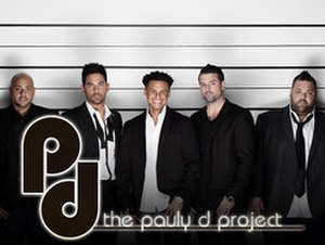 "The Pauly D Project - Gerard ""Big Jerry"" Gialanella, Jason ""JROC"" Craig, Paul ""Pauly D"" DelVecchio, Ryan Labbe and Michael ""Biggie"" Morgan (from left)"