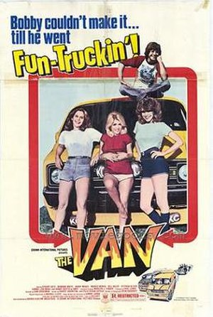 Vansploitation - Poster of The Van