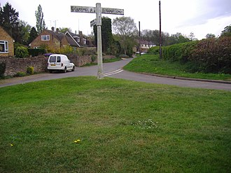 Dodford, Northamptonshire - Image: The Village of Dodford 22,4,2007