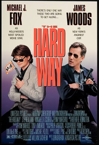 The Hard Way (1991 film) - Theatrical release poster