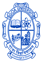 Image result for goa university logo