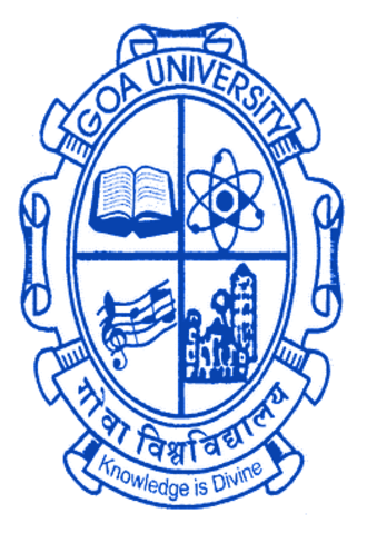 Goa University - Logo of Goa University