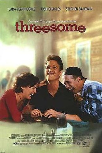 Threesome (1994 film) - Theatrical release poster