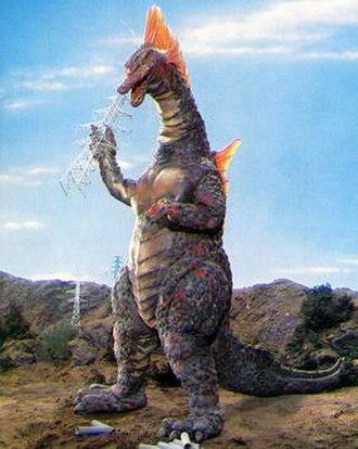 Titanosaurus (Godzilla) - Image: Titanosaurus 1975