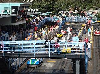 Autopia - Magic Kingdom's Tomorrowland Speedway