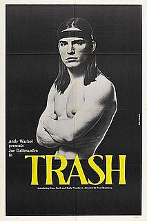 <i>Trash</i> (1970 film) 1970 film by Paul Morrissey