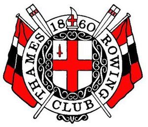 Thames Rowing Club - Image: Trcflag small
