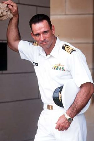 Trevor Goddard - Goddard as Cdr. Brumby from JAG