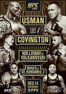 Official UFC 245 Usman vs Covington Discussion Thread  220px-UFC_245poster