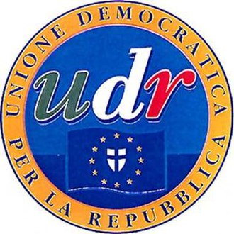Democratic Union for the Republic - Image: Unione Democratica per la Repubblica