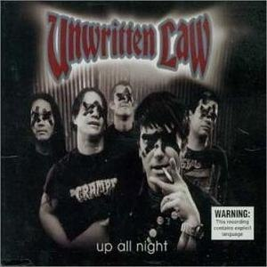 Up All Night (Unwritten Law song) - Image: Unwritten Law Up All Night cover