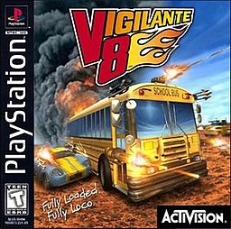 Vigilante 8 - North American box art