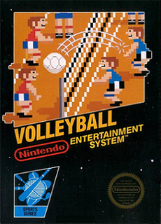 <i>Volleyball</i> (video game) 1986 volleyball video game