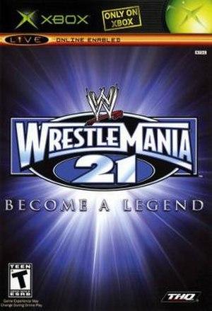 WWE WrestleMania 21 - Image: WWE Wrestlemania 21
